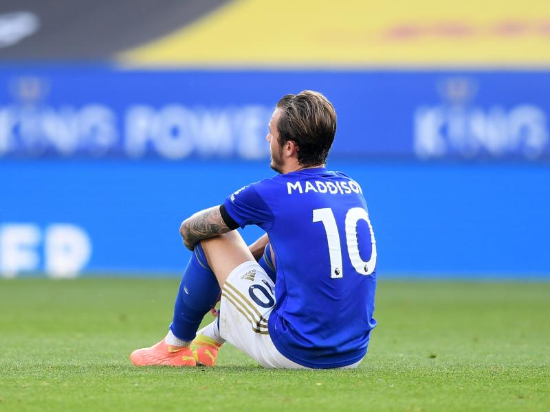 Leicester City's James Maddison out of Slavia Prague trip