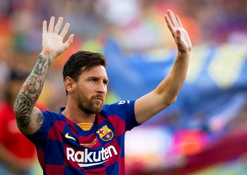 PSG chief Leonardo talks up move for Lionel Messi