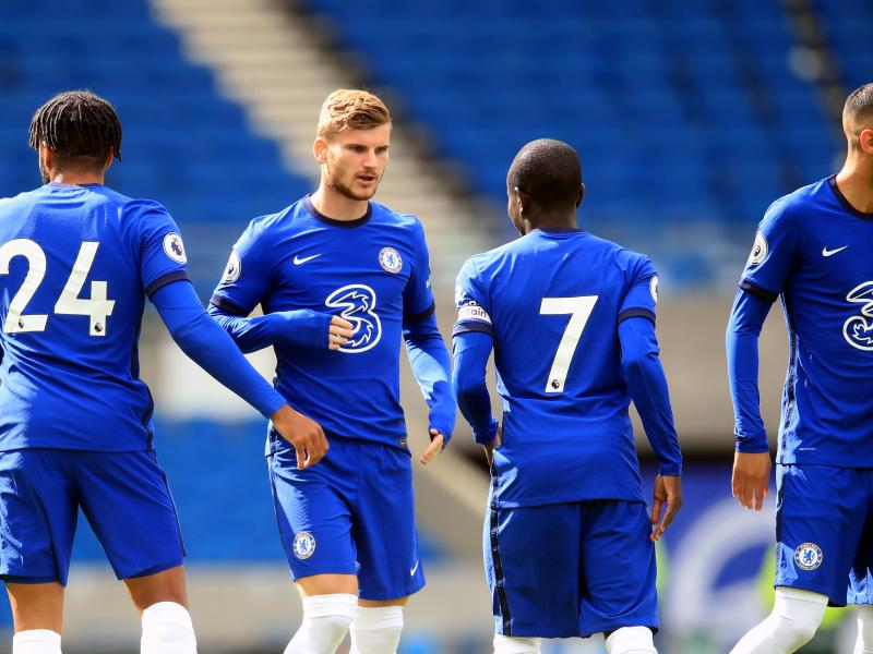 Timo Werner scores four minutes into Chelsea debut