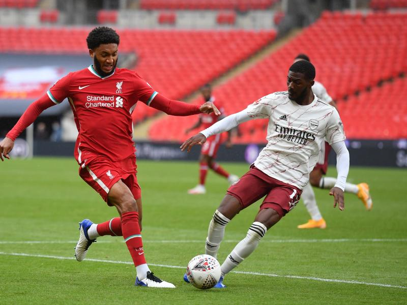 Injury news: Liverpool defender Joe Gomez steps up recovery