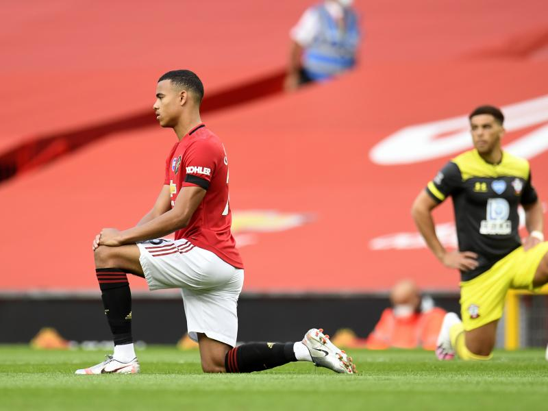 WATCH: Mason Greenwood urges players to keep taking the knee before matches