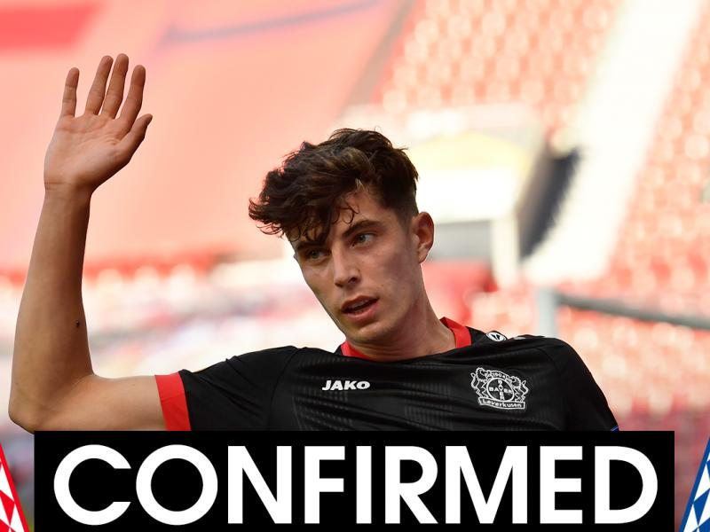 Revealed: How Lampard convinced Kai Havertz to join Chelsea