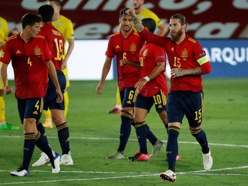 Uefa Nations League Ruthless Spain Thrash Ukraine Germany Held In Switzerland Futaa Com Uganda