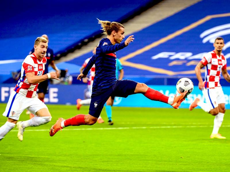France 4-2 Croatia: Griezmann equals Zidane record in win