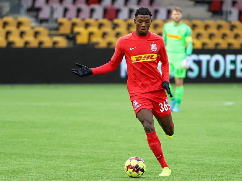 Ghanaian defender Maxwell Woledzi eager for more game time with FC Nordsjaelland