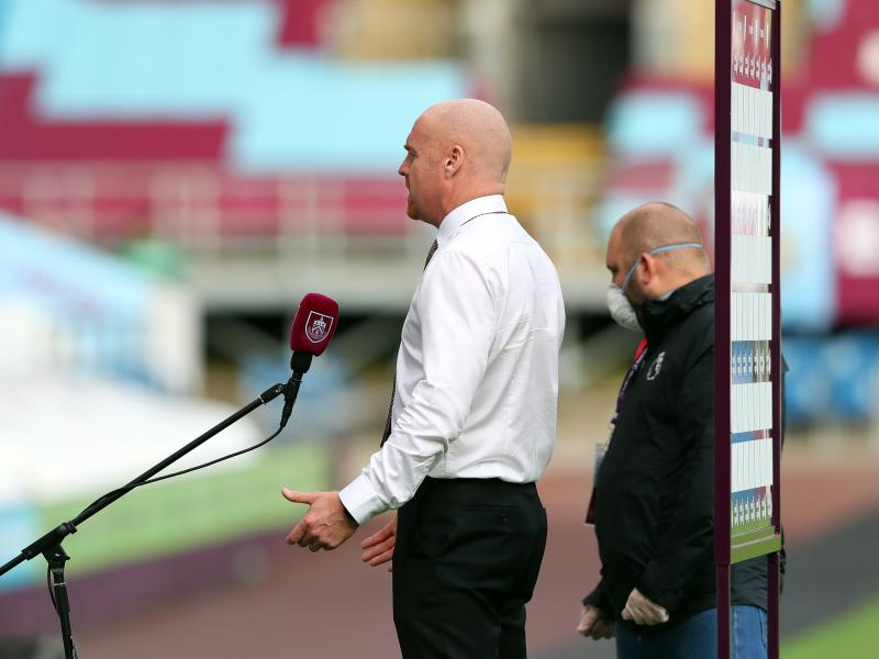 Crystal Palace and Newcastle to fight for Burnley boss Sean Dyche