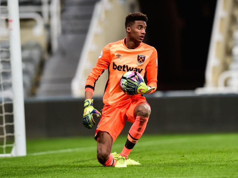 West Ham U23 goalkeeper Nathan Trott set for another loan spell