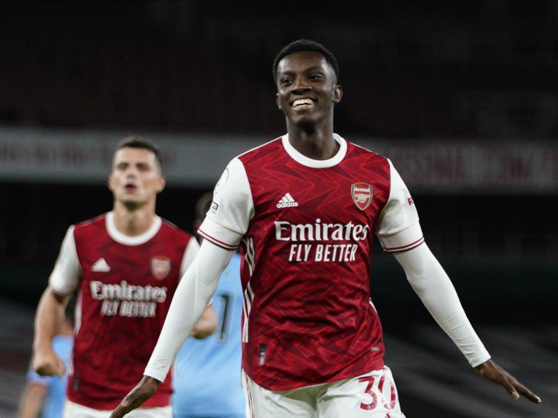 Arsenal 2-1 West Ham: Nketiah comes off the bench to win it late for the Gunners