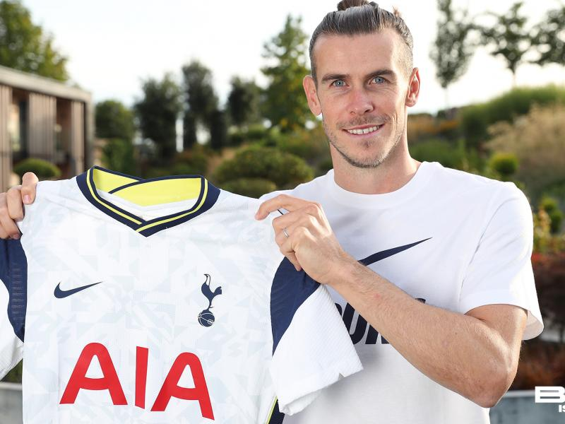 Gareth Bale's first words after rejoining Tottenham from Real Madrid