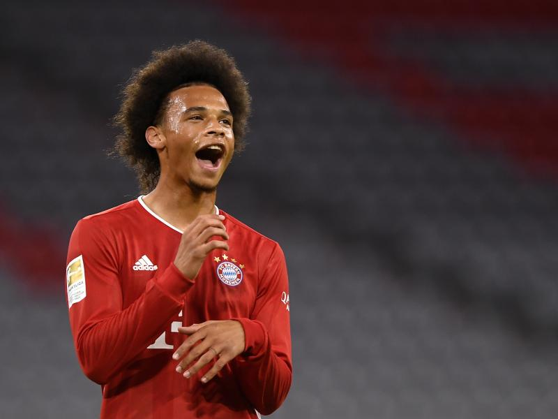 Leroy Sane opens up on fitness after scoring in Bayern Munich debut