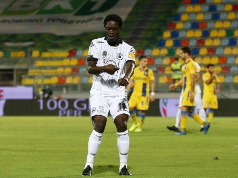 Emmanuel Gyasi ahead of Spezia's first match as a Serie A team