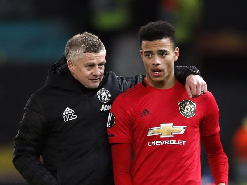 Solskjaer: Greenwood needs to learn how to head a ball