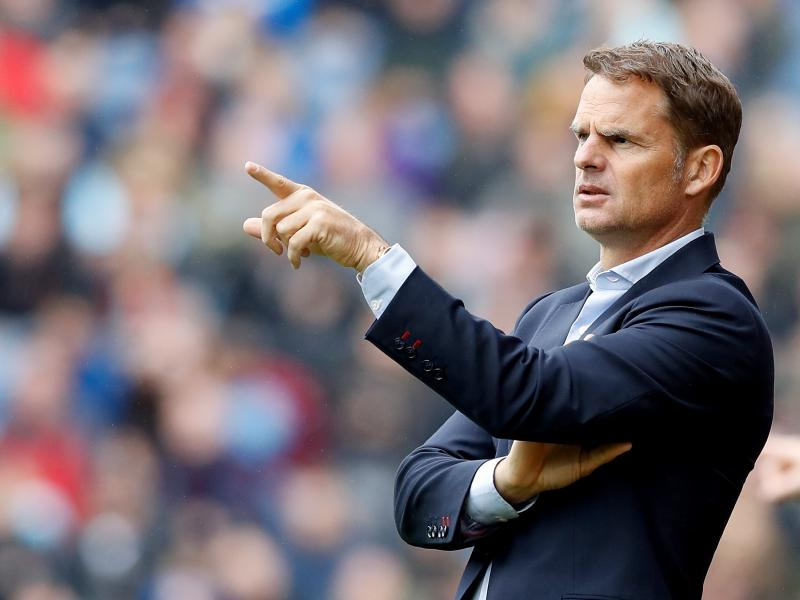 Frank de Boer makes worst start of any Dutch national team coach