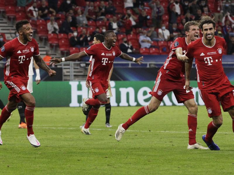 🏆 🏆 CHAMPIONS! Bayern Munich beat Sevilla 2-1 after extra time to lift UEFA Super Cup