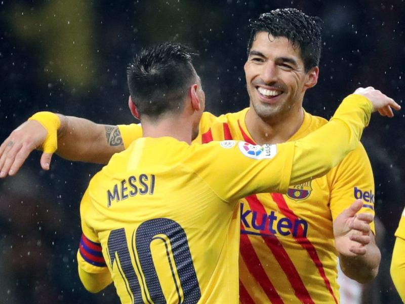 Luis Suarez responds to Lionel Messi's Instagram post after leaving Barcelona