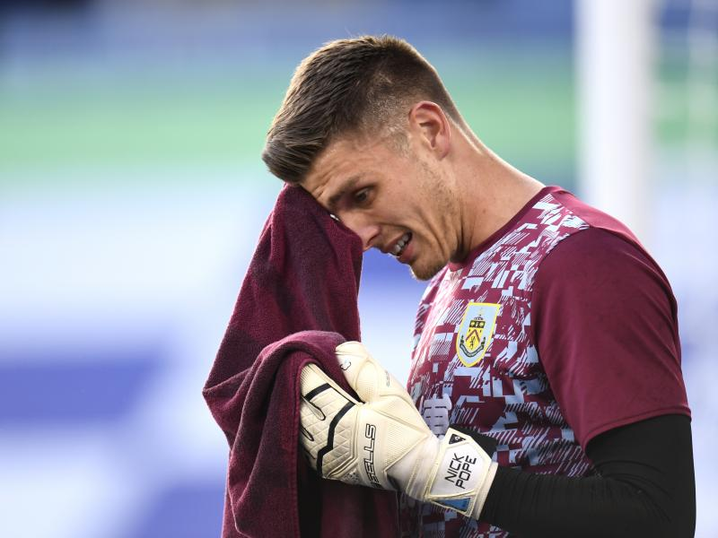 Nick Pope a doubt for England's Euro campaign