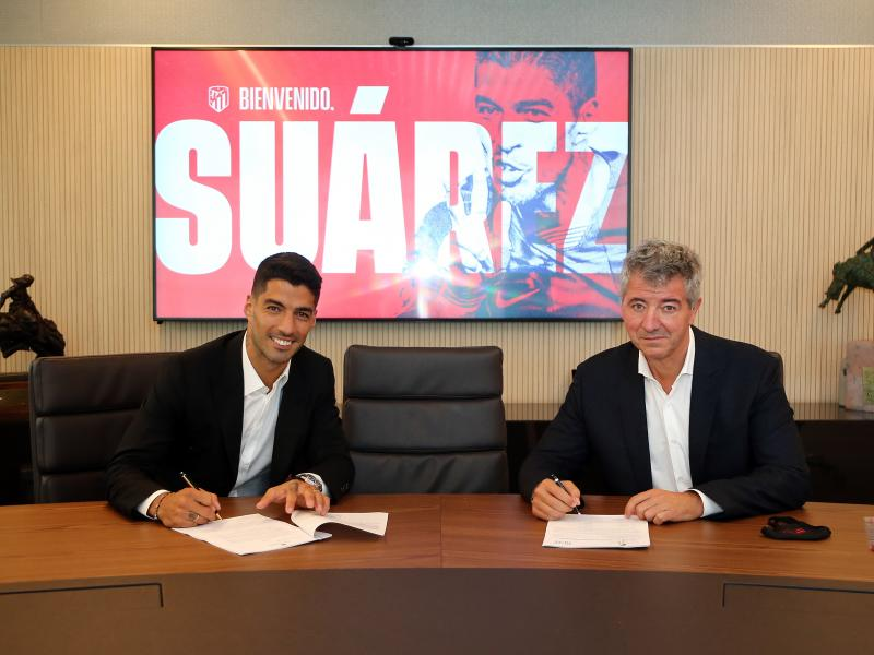 Atletico Madrid confirm Luis Suarez transfer from Barca