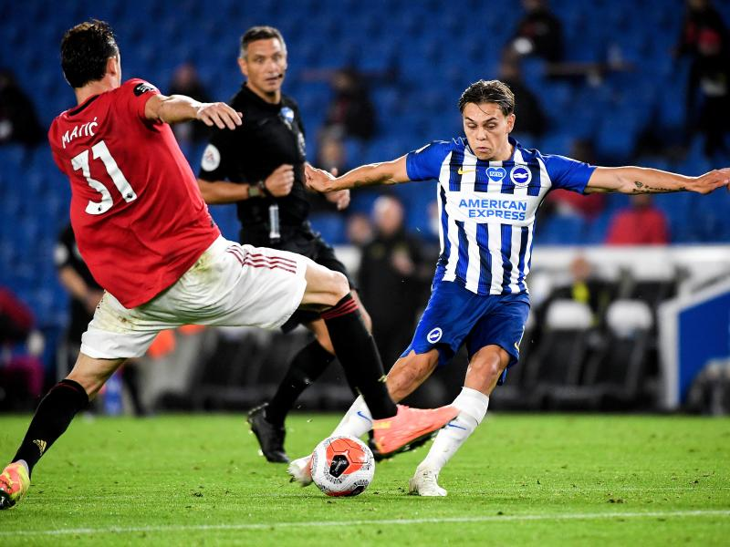 Brighton & Hove Albion vs Manchester United confirmed starting lineups