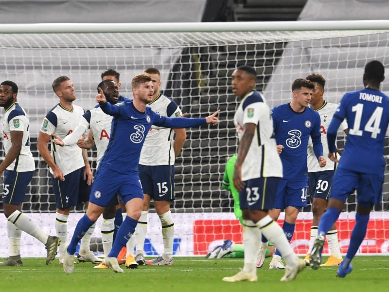 EFL Cup: Tottenham advance to quarter finals after beating Chelsea on penalties
