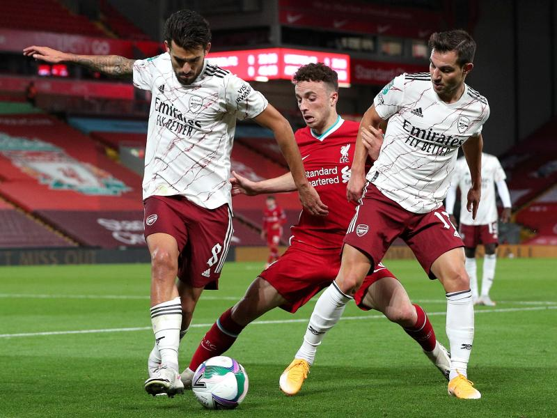 Carabao Cup: Arsenal beat Liverpool on penalties to advance to quarters