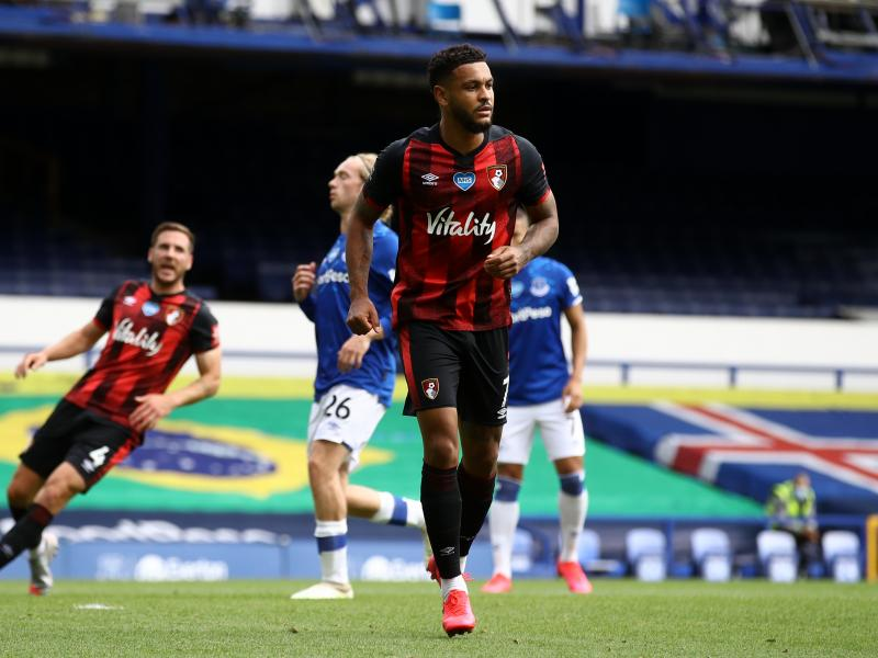 Bournemouth striker Josh King on the verge of joining West Brom