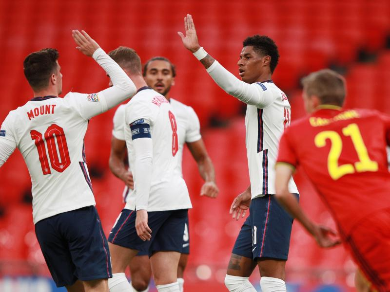 Nations League: England's Marcus Rashford ruled out of Belgium, Iceland ties