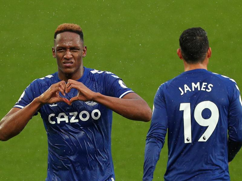 The reason why Everton defender Yerry Mina was absent from Colombia squad