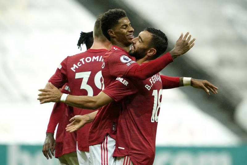 Manchester United make club history in 4-1 win over Newcastle