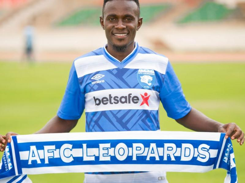🔵 Harrison Mwendwa completes AFC Leopards move