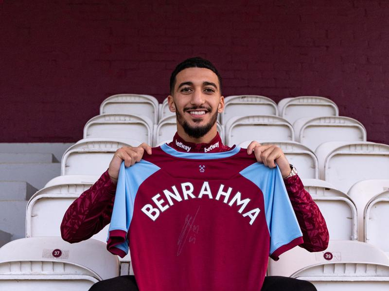West Ham's new signing Said Benrahma set to undergo second medical