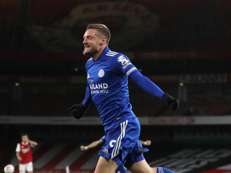 Jamie Vardy described as World Class after punishing Arsenal