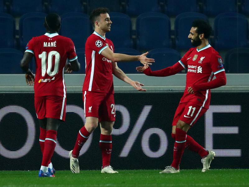 Atalanta 0-5 Liverpool: Jota scores his first hat-trick for the Reds as Klopp's men run riot