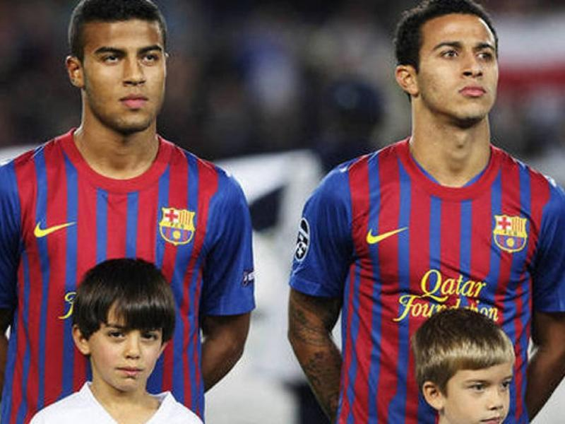 Alcantara Sr reveals how PSG initially wanted Thiago but signed his brother Rafinha