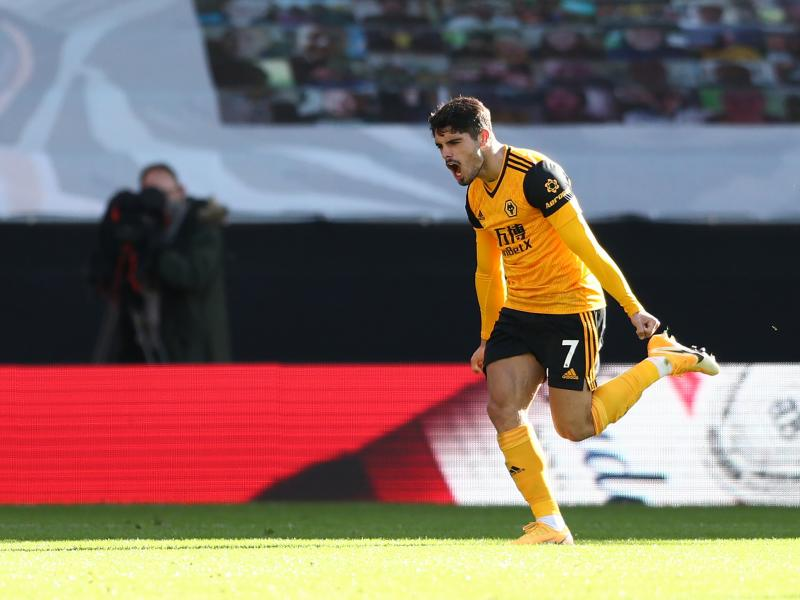 Man United planning £50M bid for Wolves star Pedro Neto