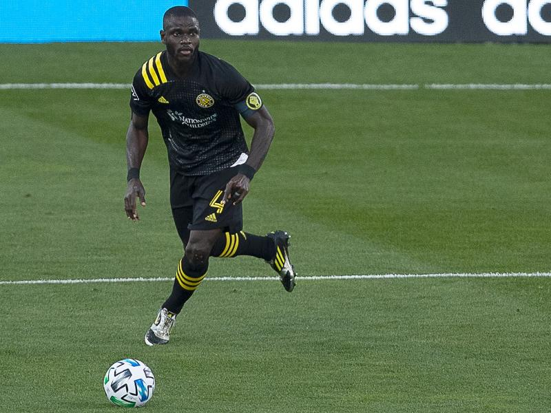 🇬🇭🇺🇸🔥 Ghanaian defender Jonathan Mensah has now played 100 games for Columbus Crew