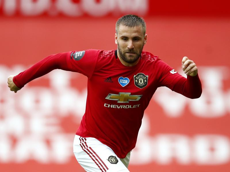 Luke Shaw in line for new Manchester United deal?