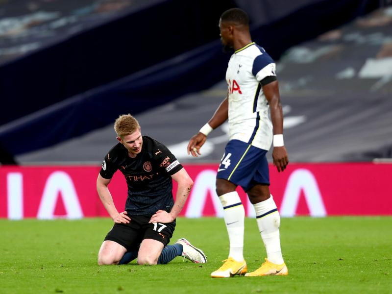 De Bruyne slams the referee after City's loss to Spurs