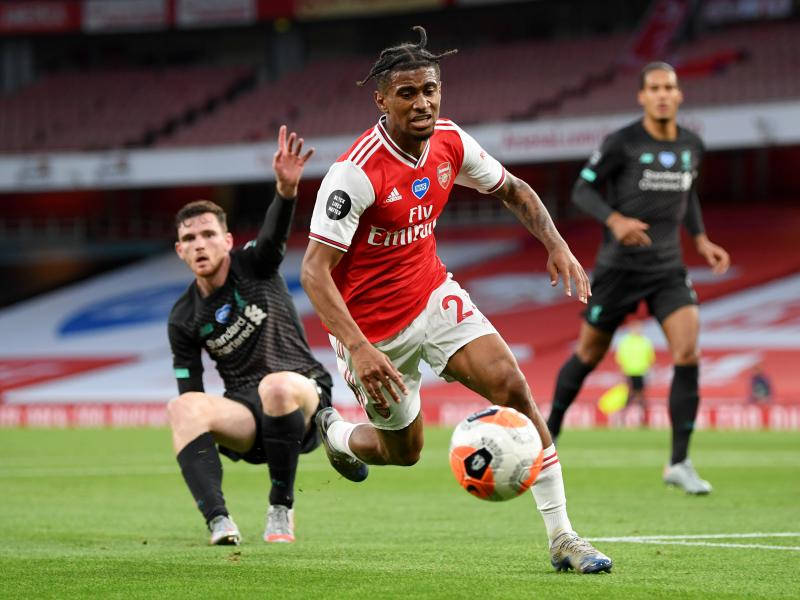 Crystal Palace eyeing loan deal for Arsenal winger Reiss Nelson