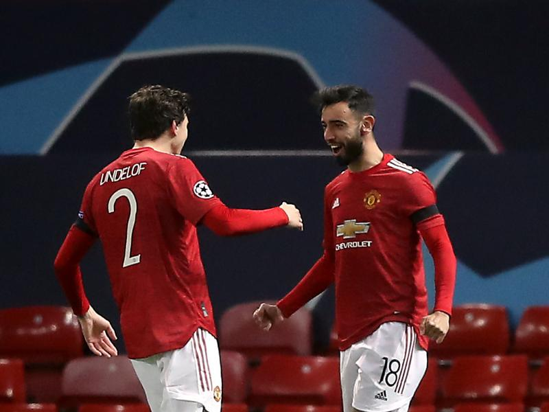 Manchester United 4-1 Başakşehir: Red Devils a point away from advancing to knock out stages