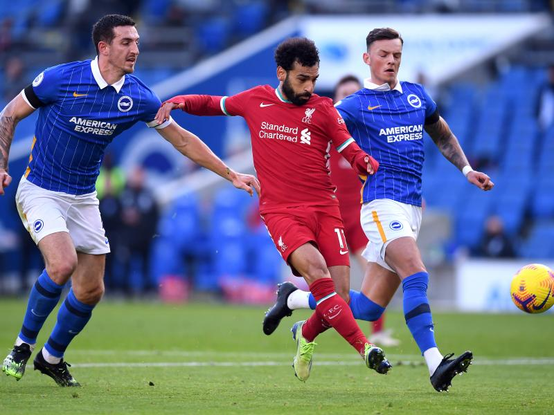 Brighton 1-1 Liverpool:  Pascal Gross' late penalty denies the Reds win