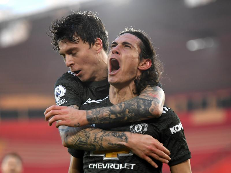 Southampton 2-3 Man United: Cavani at the double as Red Devils pull incredible comeback at St. Mary's