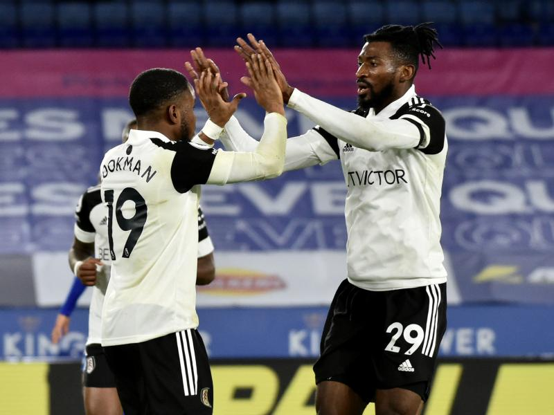 Leicester stunned at home by brave Fulham