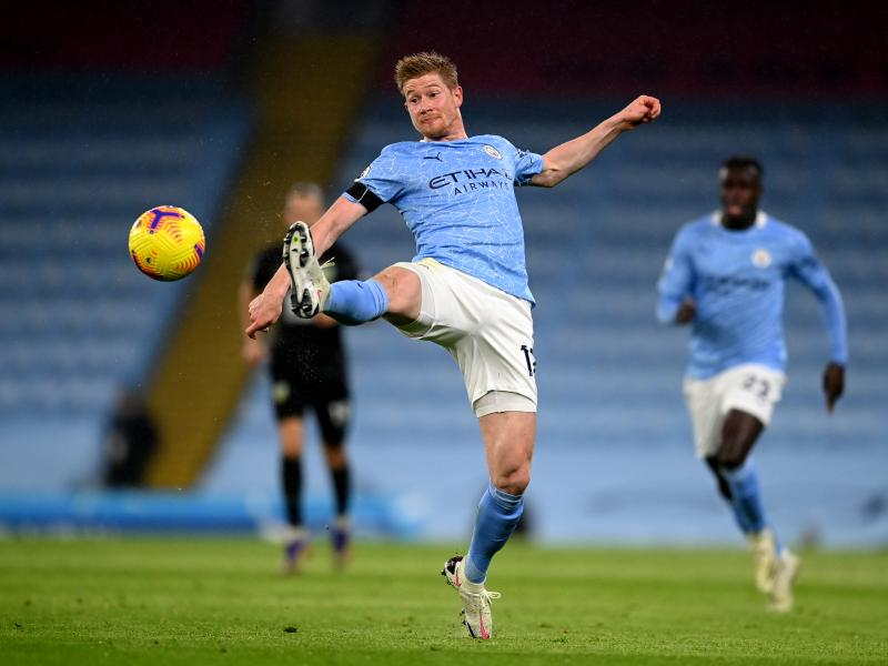 Kevin De Bruyne close to signing new Man City deal