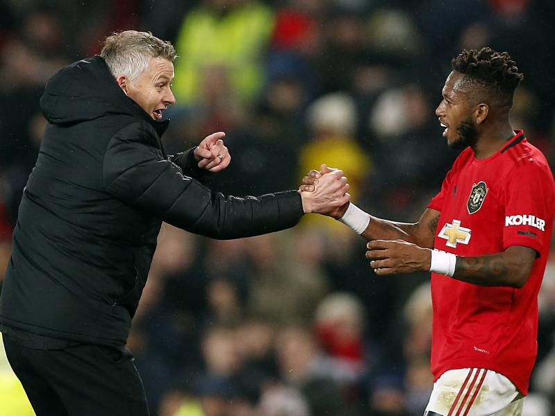 Ole Gunnar Solskjaer defends his decision to not sub Fred at halftime