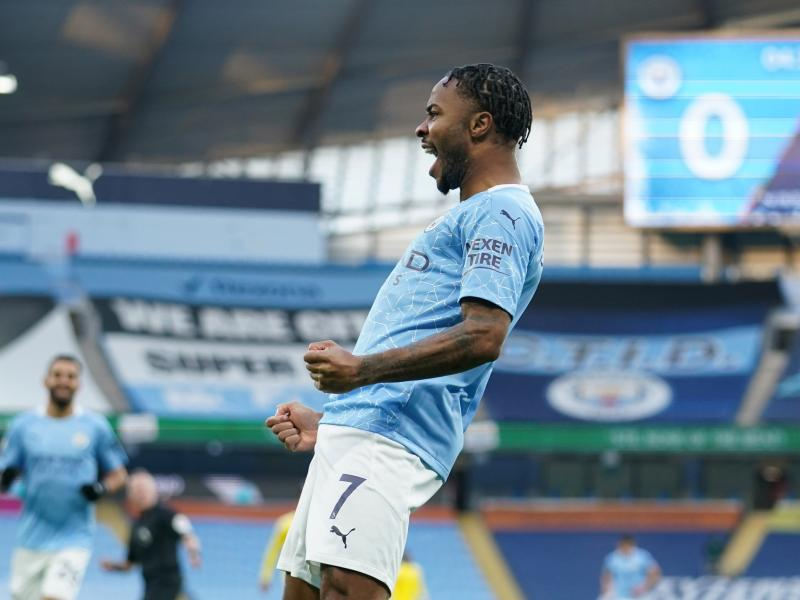 Sterling fires at last as City ease past Fulham
