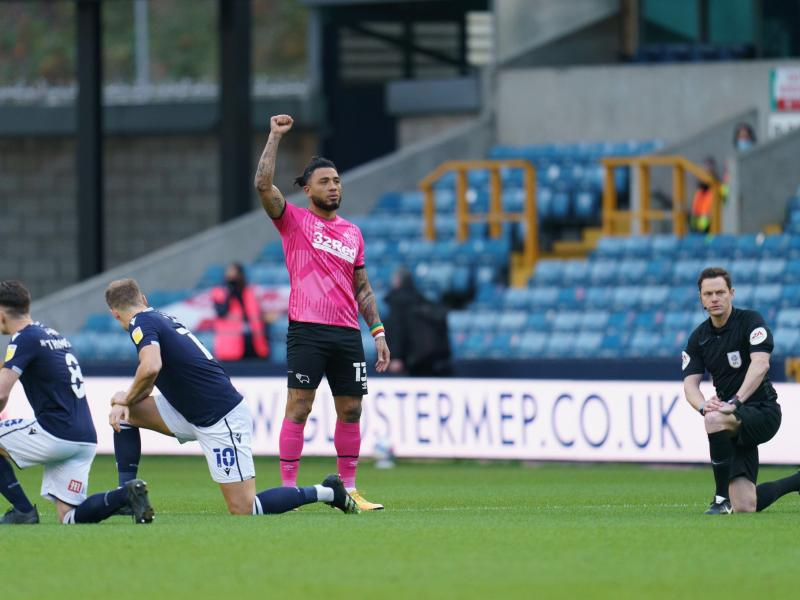 FA issue statement after Millwall fans boo players for taking the knee