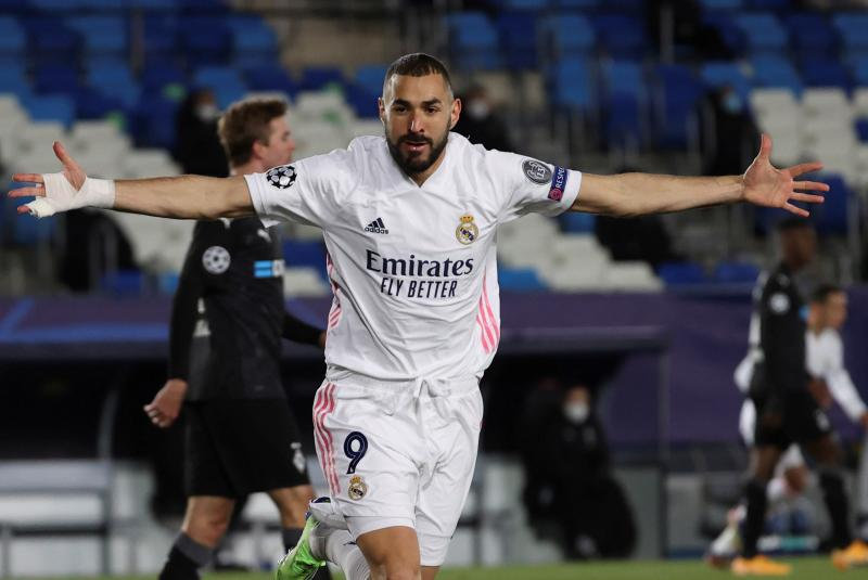 Champions League: Karim Benzema double sends Real Madrid through, Inter Milan crash out