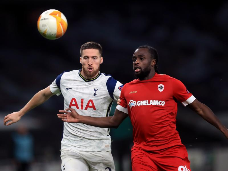 Europa League: Tottenham top Group J  with a win over Antwerp