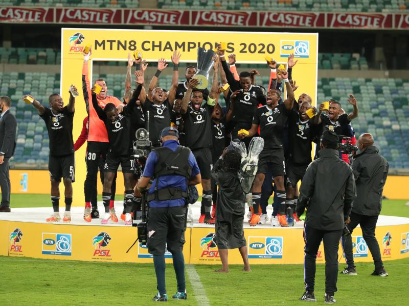 ☠️🏆 BREAKING: Orlando Pirates beat Bloem Celtic to win the MTN8 Cup