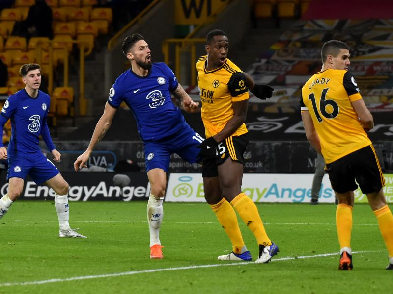 Wolves 2-1 Chelsea: Neto's stoppage timer winner hands Blues second consecutive defeat